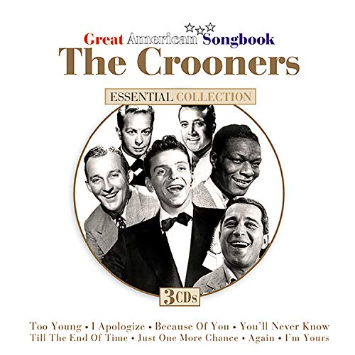 Crooners Great American Songbo Crooners Great American Songbo Como Monroe Clark Howard 3 CD Set