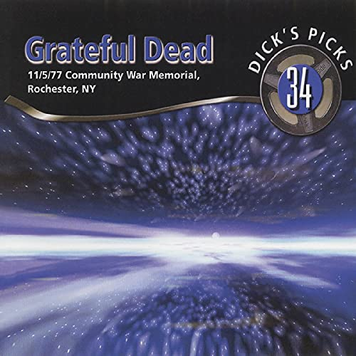 Grateful Dead Vol. 34 Dick's Picks Rochester 3 CD