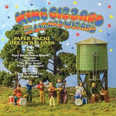 King Gizzard & The Lizard Wizard Paper Mache Dream Balloon Paper Mache Dream Ballon