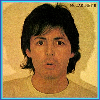 Paul Mc Cartney Mc Cartney Ii Vinyl Record Usa Gatefold Sleeve